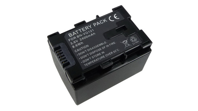 Replacement for JVC GZ-E505B, GZ-E505BU, GZ-HM215AC, JVC GZ-E1, GZ-E2, GZ-E3, GZ-EX, GZ-HD, GZ-HM3, GZ-HM4, GZ-HM5, GZ-HM6, GZ-HM8, GZ-HM9, GZ-MG, GZ-MS Camcorder Battery