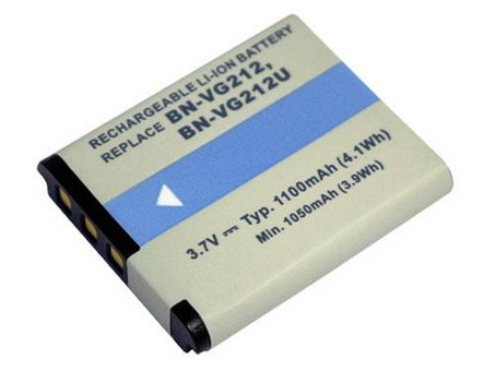Replacement for JVC BN-VG212 Camcorder Battery(Li-ion 1100mAh)