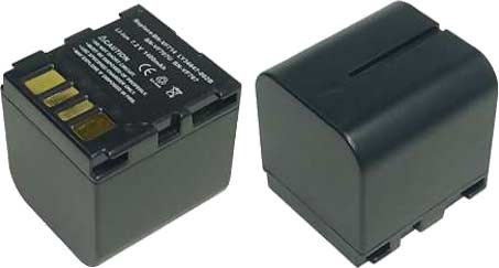 Replacement for JVC BN-VF707U Camcorder Battery(Li-ion 1400mAh)