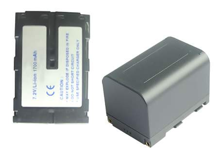 Replacement for JVC BN-V607 Camcorder Battery(Li-ion 2100mAh)