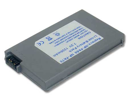 Replacement for SONY NP-FA70 Camcorder Battery(Li-ion 1200mAh)