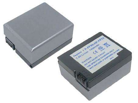 Replacement for SONY NP-FF71 Camcorder Battery(Li-ion 1300mAh)