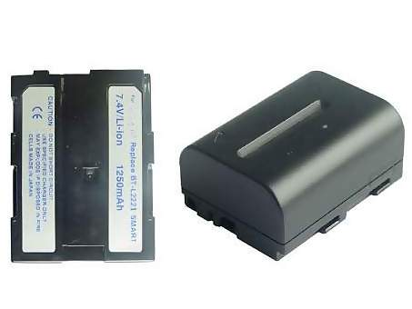 Replacement for SHARP BT-L221 Camcorder Battery(Li-ion 1500mAh)