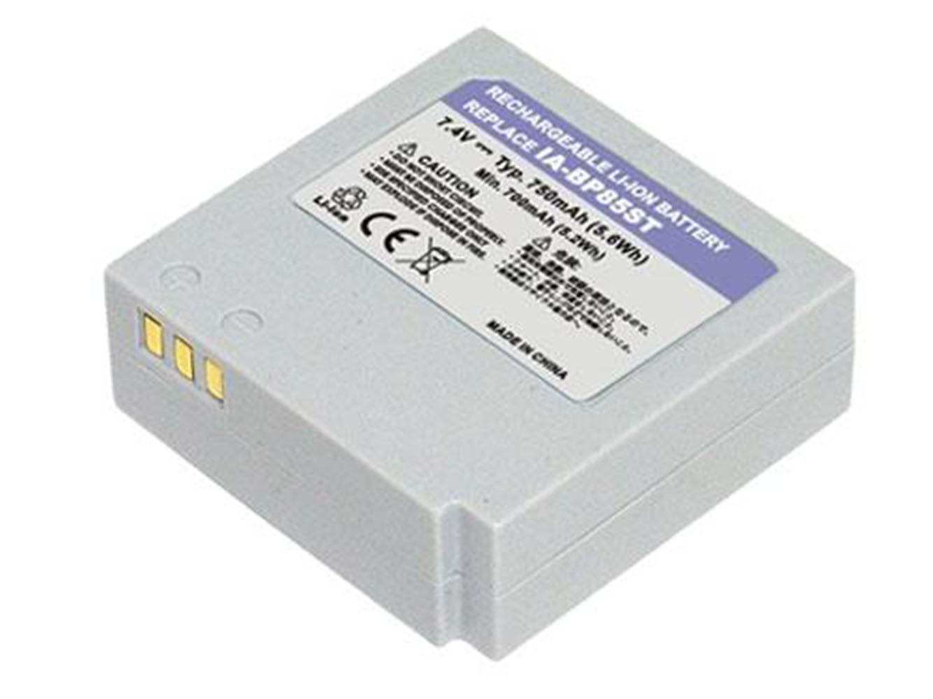 Replacement for SAMSUNG HMX-H, SC-HMX, SC-MX, SMX-F, VP-HMX, VP-MX Series Camcorder Battery