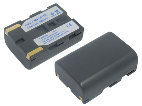 Replacement for SAMSUNG SB-LS110 Camcorder Battery(Li-ion 1500mAh)