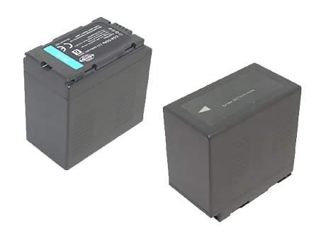 Replacement for PANASONIC CGA-D54S Camcorder Battery(Li-ion 5400mAh)