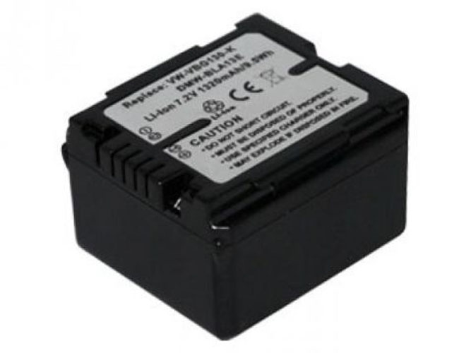 Replacement for PANASONIC AG-HMC70, VDR-D310, PANASONIC HDC, Lumix DMC-L10, PV, SDR Series Camcorder Battery