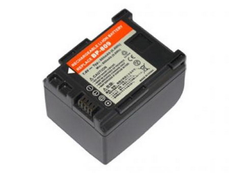 Replacement for CANON BP-809 Camcorder Battery(Li-ion 860mAh)