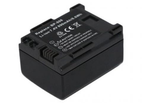 Replacement for CANON VIXIA HF S11 Camcorder Battery(Li-ion 890mAh)