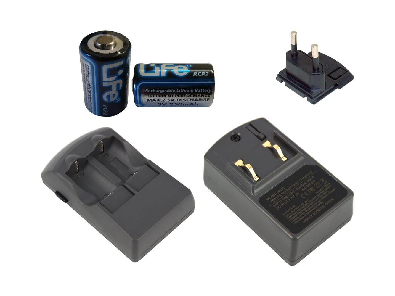 Battery Charger for YASHICA Acclaim 300, Acclaim 4000, Acclaim Zoom 300