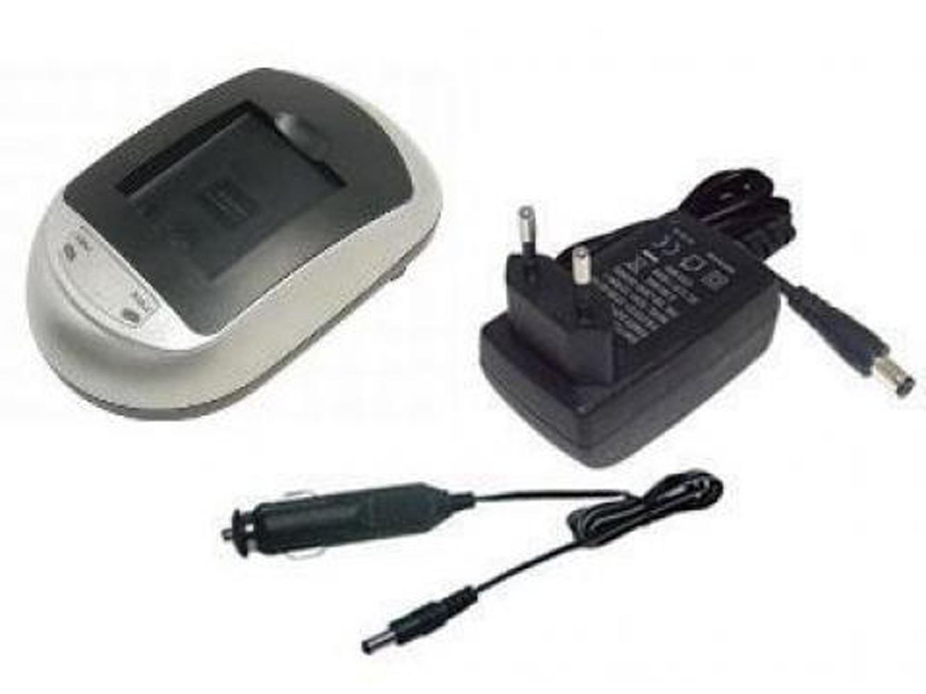 Battery Charger for PANASONIC CGA-S004, CGA-S004A/1B, CGA-S004E/1B, DE-992A, DMW-BCB7, DMW-CAC2, DMW-CAC2EG