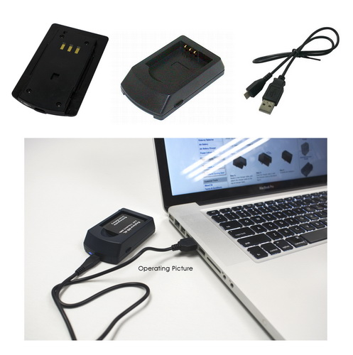 Battery Charger for SONY NP-BG1, NP-FG1