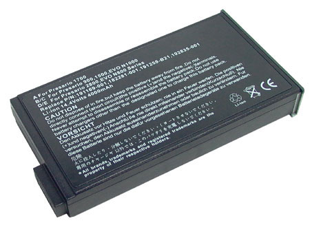 Replacement for COMPAQ 182281-001 Laptop Battery(Li-ion 4400mAh)