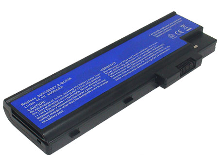 Replacement for ACER TravelMate 6500, ACER Aspire 5000, Aspire 7000, Aspire 9000, TravelMate 4000, TravelMate 5000, TravelMate 7000 Series Laptop Battery