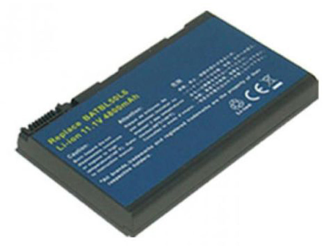 Replacement for ACER Travelmate 2450, TravelMate 4283WLM, ACER Aspire 3100, 3690, 5100, 5110, 5515, 5610, 5630, 5650, 5680 Series, ACER TravelMate 2490, 4200, 4230 Series Laptop Battery