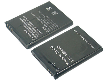 Replacement for NOKIA 5140 Mobile Phone Battery(Li-ion 760mAh)
