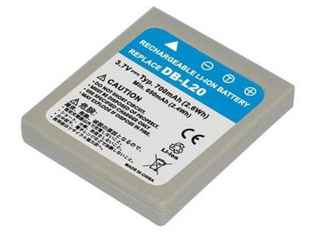 Replacement for SANYO DB-L20 Digital Camera Battery( Li-ion 700mAh)