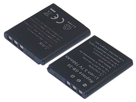 Replacement for GE GB-20 Digital Camera Battery(Li-ion 750mAh)
