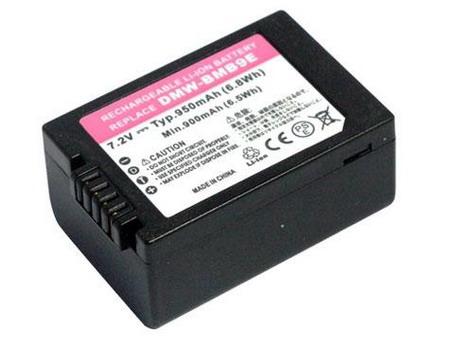 Replacement for PANASONIC DMW-BMB9 Digital Camera Battery(Li-ion 950mAh)
