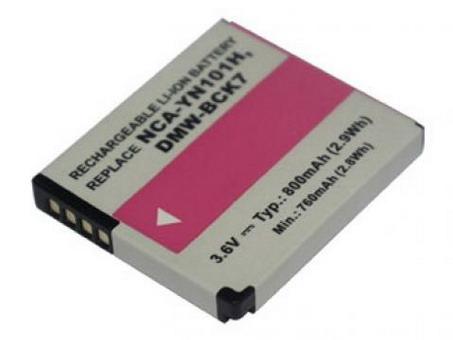Replacement for PANASONIC Lumix DMC-FH2 Digital Camera Battery(Li-ion 800mAh)