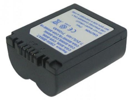 Replacement for PANASONIC DMW-BMA7 Digital Camera Battery(Li-ion 710mAh)