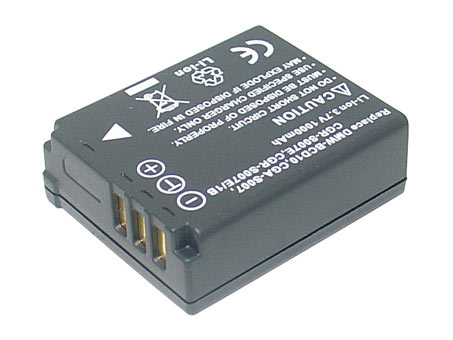 Replacement for PANASONIC CGA-S007 Digital Camera Battery(Li-ion 1000mAh)