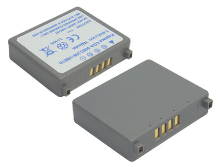 Replacement for PANASONIC CGA-S303 Digital Camera Battery(Li-ion 760mAh)