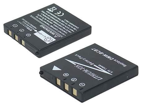Replacement for PANASONIC DMW-BCB7 Digital Camera Battery(Li-ion 710mAh)