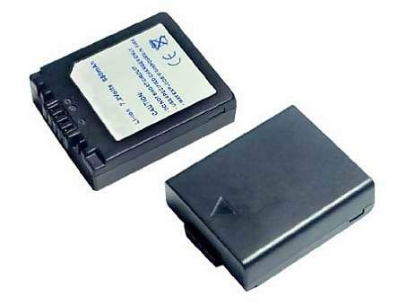 Replacement for PANASONIC CGR-S002 Digital Camera Battery(Li-ion 680mAh)
