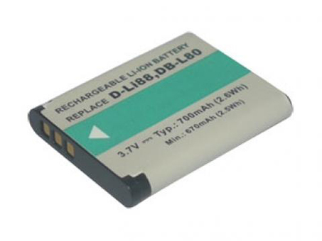 Replacement for PENTAX D-LI88 Digital Camera Battery(Li-ion 700mAh)