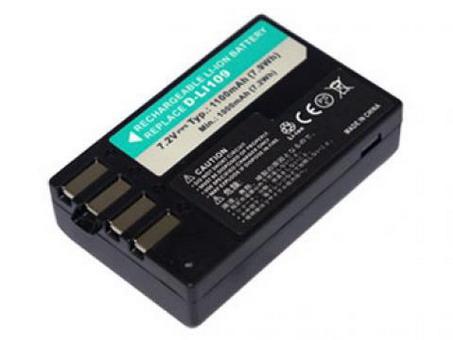 Replacement for PENTAX D-LI109 Digital Camera Battery(Li-ion 1100mAh)