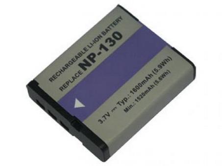 Replacement for CASIO Exilim EX-H30 Digital Camera Battery(Li-ion 1600mAh)