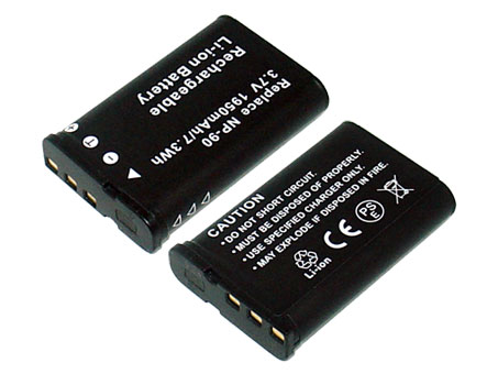 Replacement for CASIO NP-90 Digital Camera Battery(Li-ion 1950mAh)