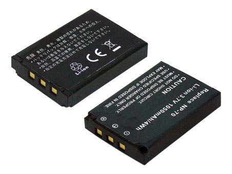 Replacement for CASIO NP-70 Digital Camera Battery(Li-ion 1050mAh)
