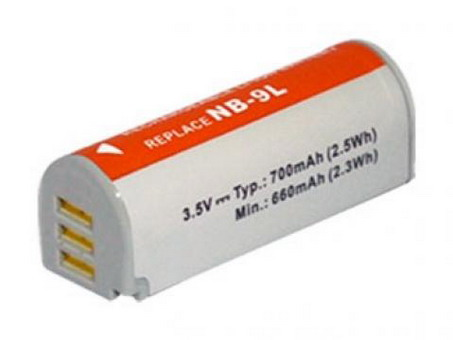 Replacement for CANON NB-9L Digital Camera Battery(Li-ion 700mAh)