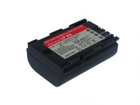 Replacement for CANON LP-E6 Digital Camera Battery(Li-ion 1700mAh)