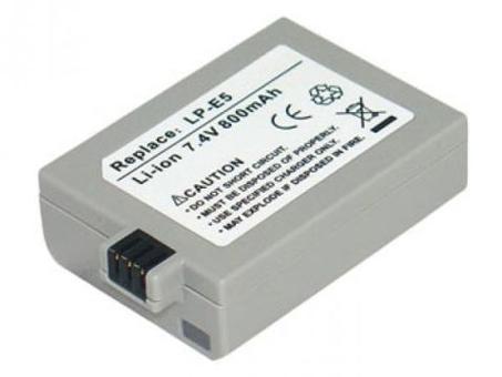 Replacement for CANON LP-E5 Digital Camera Battery(Li-ion 800mAh)