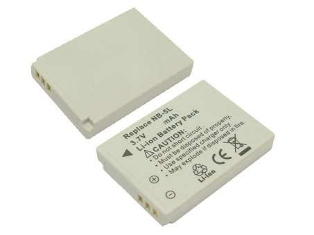 Replacement for CANON NB-5L Digital Camera Battery(Li-ion 1120mAh)