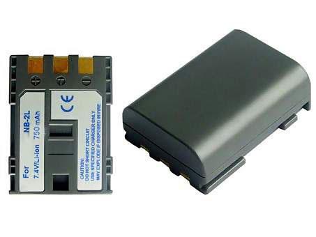 Replacement for CANON Elura 40MC Digital Camera Battery(Li-ion 750mAh)