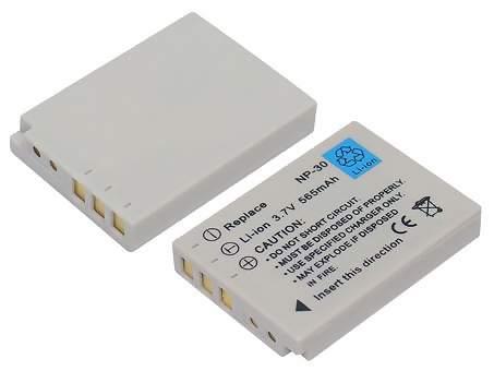 Replacement for FUJIFILM NP-30 Digital Camera Battery(Li-ion 565mAh)