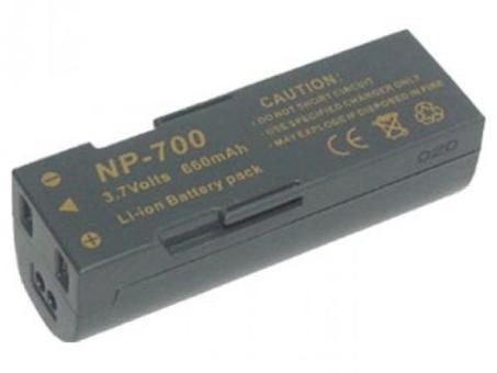 Replacement for SANYO Xacti VPC-A5 Digital Camera Battery(Li-ion 700mAh)