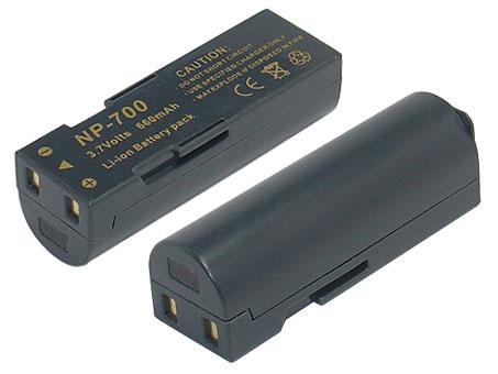 Replacement for SANYO Xacti VPC-A5 Digital Camera Battery(Li-ion 750mAh)