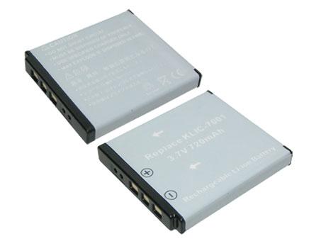 Replacement for KODAK KLIC-7001 Digital Camera Battery(Li-ion 720mAh)
