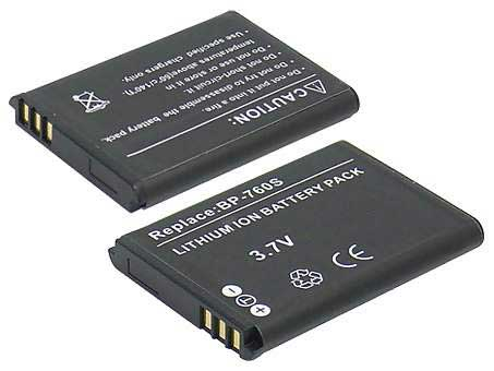Replacement for CONTAX BP-760S Digital Camera Battery(Li-ion 650mAh)