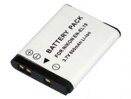 Replacement for NIKON Coolpix S2500 Digital Camera Battery(Li-ion 600mAh)
