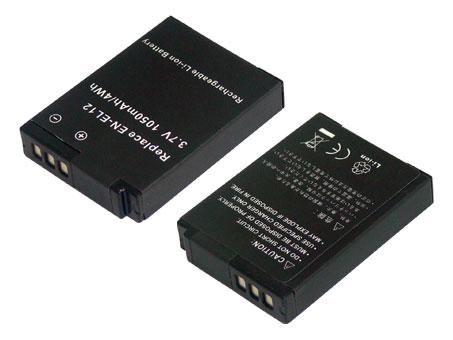 Replacement for NIKON EN-EL12 Digital Camera Battery(Li-ion 1050mAh)