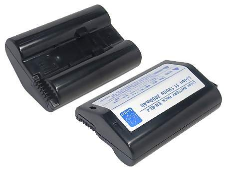 Replacement for NIKON EN-EL4 Digital Camera Battery(Li-ion 1800mAh)