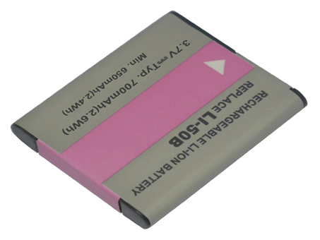 Replacement for OLYMPUS LI-50B Digital Camera Battery(Li-ion 700mAh)