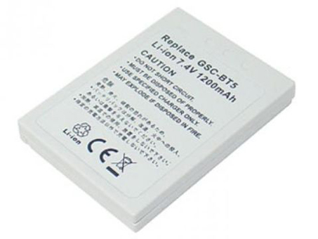 Replacement for TOSHIBA GSC-BT5 Digital Camera Battery(Li-ion 1200mAh)